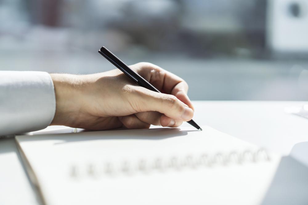 Wer schreibt Ihnen da eigentlich jeden Tag?