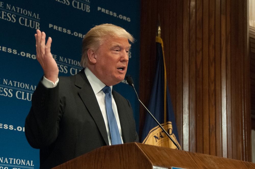 Wir sagen Donald Trump Good Bye