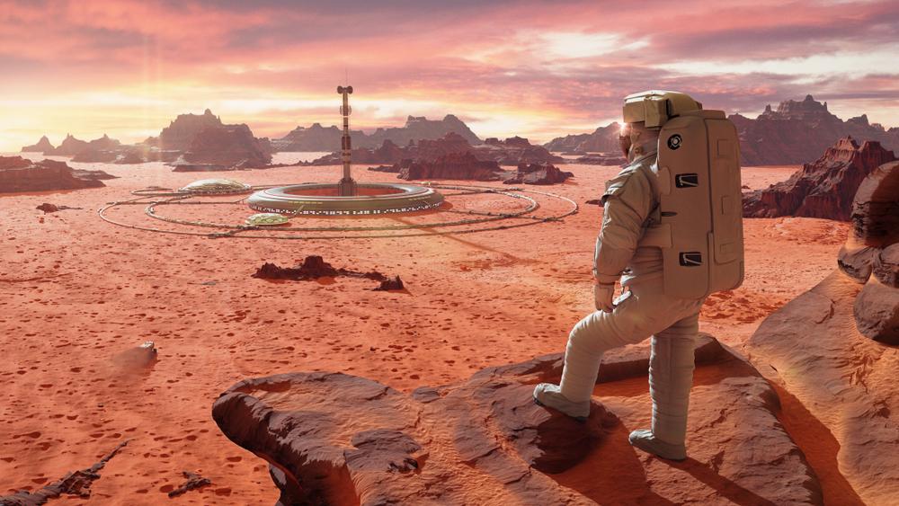 Urlaub auf den Mars: Wir holen uns das Weltall